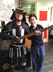 wearing-samurai-costume