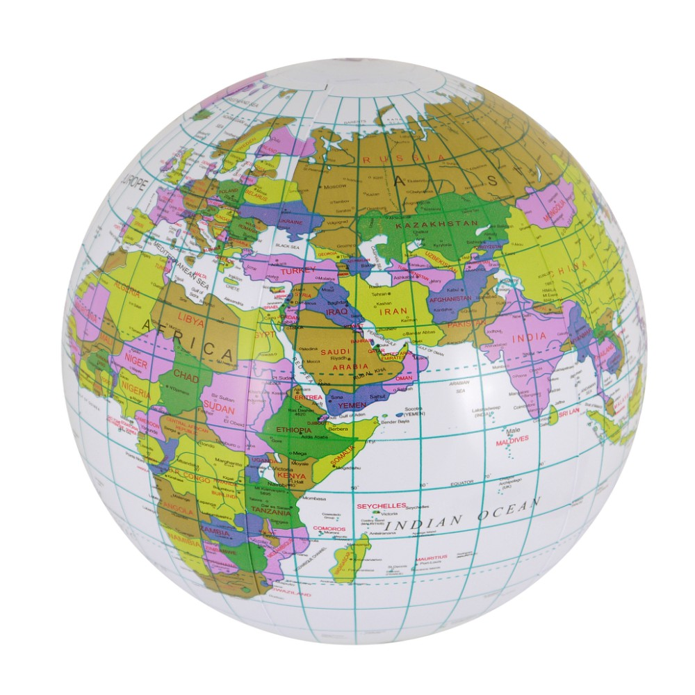 Inflatable-Blow-Up-Globe-40cm